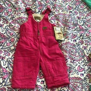 Girls bib overalls